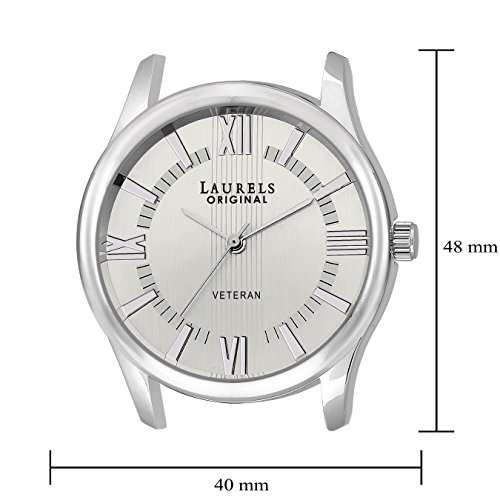 Laurels-Veteran-Analog-Silver-Dial-Mens-Watch-Lo-Vet-201