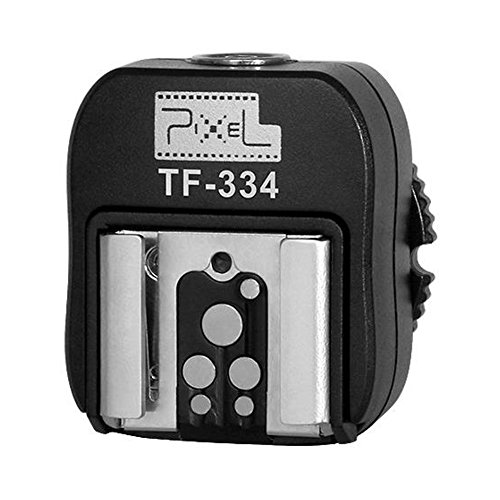Pixel Blitzschuh-Adapter mit PC-Verbindungsanschluss für Canon EOS Kameras