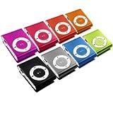 Mini MP3-Player inklusive Clip und Kopfhörer, Aluminium Gehäuse / Farbe: pink