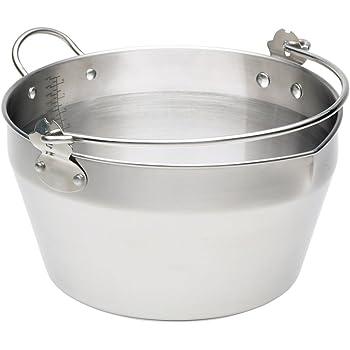 Kitchen Craft Stainless Steel Maslin/Jam Preserving Pan, 9 L