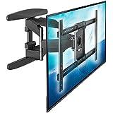 """P6 - Grand support mural pour téléviseurs TV LCD LED Plasma de grande taille 40"""" - 70"""", 136 kg tests de résistance TUV"""