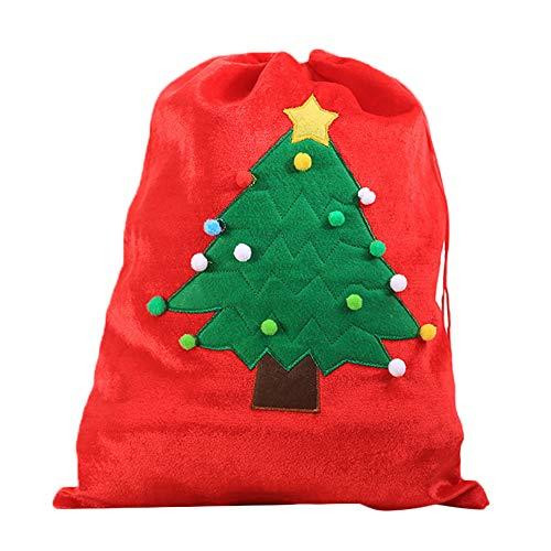 MoGist Saco Papá Noel Navidad Roja patrón Grande