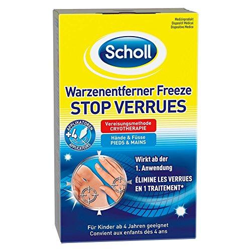 Scholl Warzenentferner Freeze 16 Sticks für Hände und Füße, 1er Pack (1 x 80 ml)