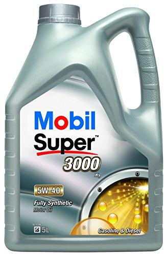 Mobil Super 3000X15W-40olio motore completamente sintetico mob-151166-5lit