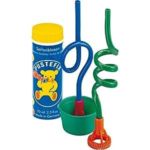 Pustefix - 2 cañitas, juego para hacer pompas de jabón, 70 ml (Carrera 420869460)