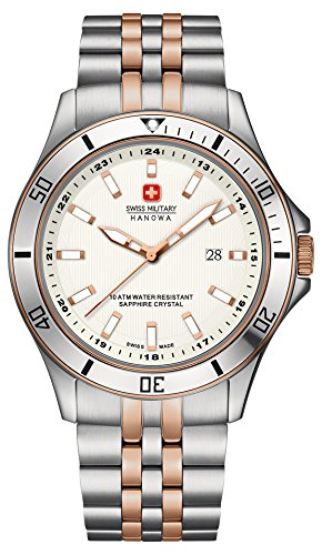 Swiss Military Herren-Armbanduhr FLAGSHIP Analog Quarz 6-5161.7.12.001