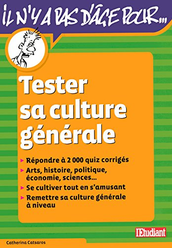 TESTER SA CULTURE GENERALE