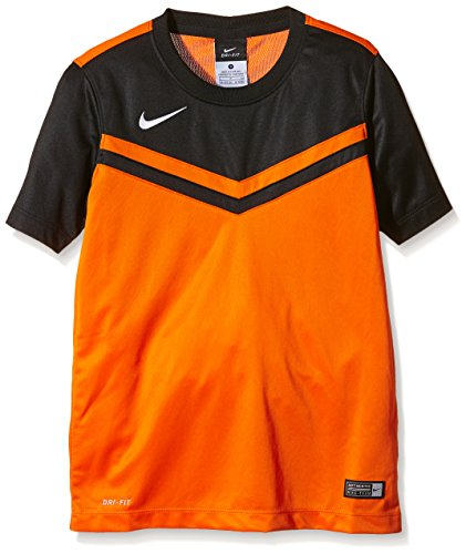 NIKE Herren Shirt Kurzarm Top Victory II Jersey Safety Orange/Black/White