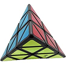 Cubo Moyu Piramide Magica Mo Yu Pyraminx Negro Antipop Stickers Speed Cube Speedcube YJ8230