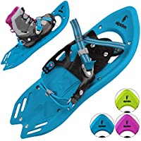 ALPIDEX Snowshoe for children in many colours - optional with or without telescope poles
