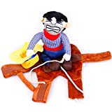 WAXDEOLM Cartoon - pet - Cowboy mit verkleiden heimtierbedarf Kleidung Cospaly Halloween - Hund,M,Brown