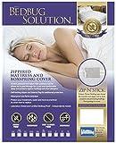 Matratze mit Reißverschluss für Bettwanzen, Kinderbett Crib weiß