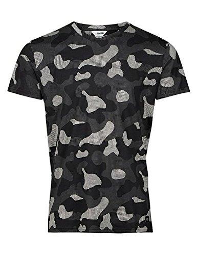 SOLID T-Shirt Haines schwarz / grau Größe L (Solid Mesh-shirt)