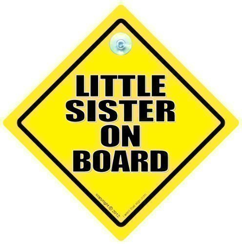 Little Sister On Board Sister voiture Little Sister \