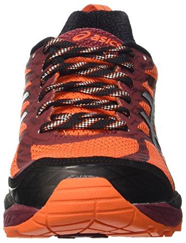Asics Gel-fujitrabuco 5, Gymnastique homme Arancione (Flame Orange/Silver/Pomegranate)