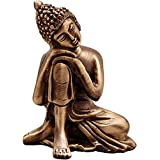 [Sponsored]ELITE Brass Statue / Idol Of Lord Buddha Brass For Blessing , Happiness , Health , Wealth At Home & Office , Handcrafted With Antique Look/ Diwali Gift Product Dimensions (LxBxH - 2.1 X 1.5 X 2.5) Inches, Weight - 175 Gms By Crafthut