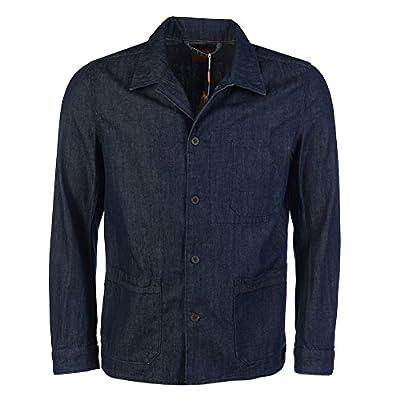 HUGO BOSS ORANGE Jacket Blue Denim Cotton Size Medium RRP £169 CHM 646