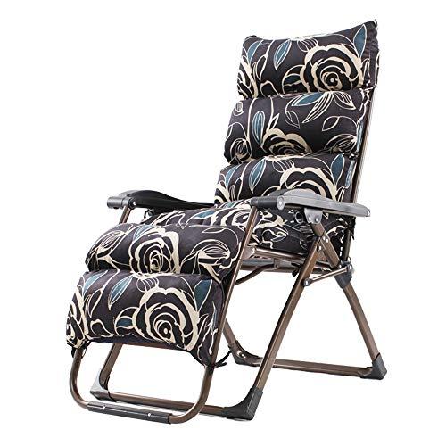 HAIZHEN Chaise longue Chaises longues, chaise longue de jardin inclinable et pliante Chaise longue pliante Chaise longue pliante Support de chaise de jardin inclinable 350lbs pour cour extérieure