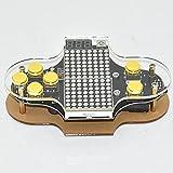 Cikuso Kit de Consola de Juego Electronica de Bricolaje Kit de Practica de Soldadura V2 de codigo Abierto