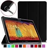 Fintie Samsung Galaxy Note 10.1 2014 Edition Case Cover - Ultra Slim Lightweight Stand Smart Shell with Auto Sleep/Wake Feature, Black