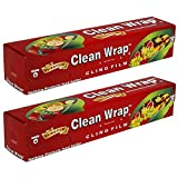 #6: Clean Wrap PVC film 100 MTR Pack of 2