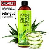Aloe Vera Gel 99% Bio, 355 ml - ÖKO-TEST Sehr Gut - 100% Natürlich, Rein & Ohne Duftstoffe...