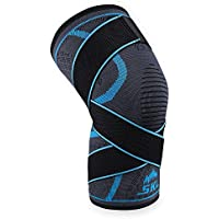 SKL Kniebandage Knie Sleeve Unterstutzung flexibel mit Seitenstabilisatoren verbesserten Komfort hilft lateralen... preisvergleich bei billige-tabletten.eu