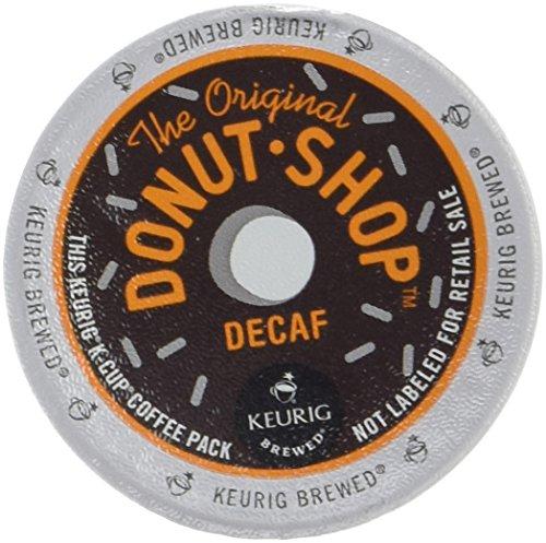 Keurig café gente rosquilla tienda Decaf K-CUPS 18-count