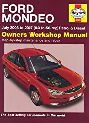 Ford Mondeo Petrol and Diesel Service and Repair Manual: 2003 to 2007 (Service & repair manuals) by R. M. Jex (2007-05-24)