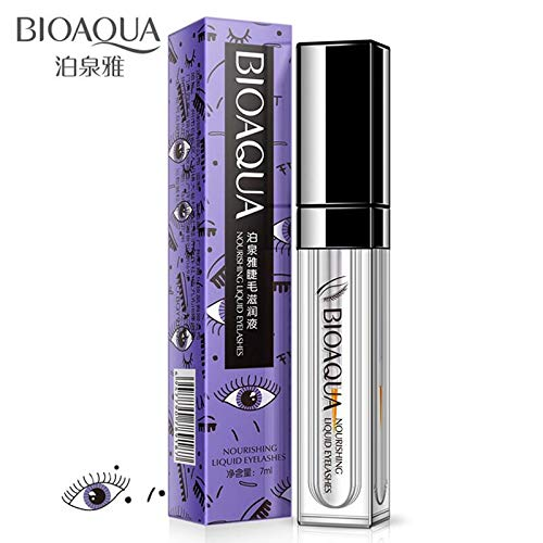 KHKJ BIOAQUA Eyelash Nourishing Fluid Growth Treatments Liquid Eye lash Serum Enhancer Moisturizing Build Thicker Longer Curller