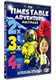 Times Table Adventure : 2X, 3X and 4X Multipack [DVD]