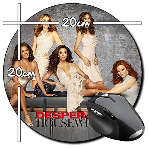 Mujeres Desesperadas Desperate Housewives E Tapis De Souris Ronde Round Mousepad PC