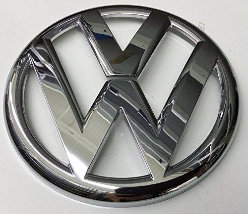 Original VW Rear Trunk Boot Badge Emblem Chrome - 5K0853630B ULM