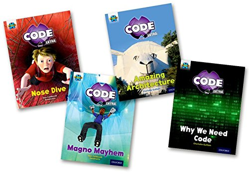 Project X CODE Extra: Gold Book Band, Oxford Level 9: Marvel Towers and CODE Control, Mixed Pack of 4