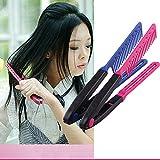 V Form Kamm , Haar Glätten Styling Kamm Bürste für lockiges, dick oder grobes Haar
