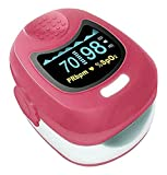 Contec Pink OLED Kids Fingertip Pulsoximeter