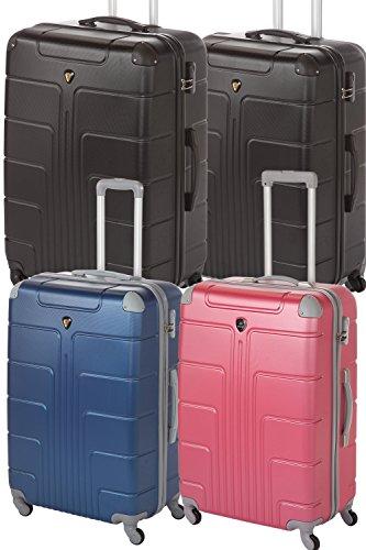 Hartschale Kofferset Familien-Set 4-teilig 2x Gr. L (je 65cm, 68Liter) + 2x Gr. XL (je 75cm, 110Liter), viele verschiedene Farben