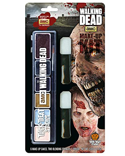 The Walking Dead Schmink Set (Walking Dead Kostüm Einfach)
