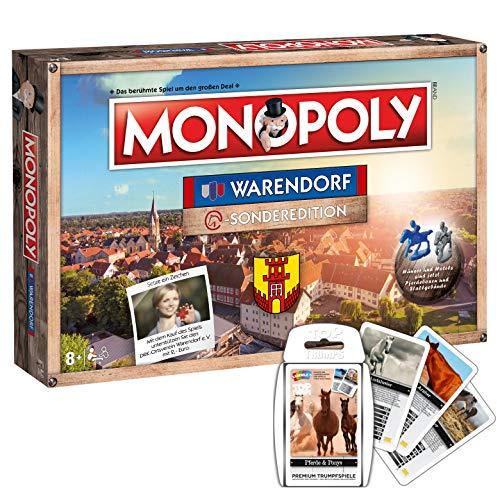 Winning Moves Monopoly Warendorf Stadt Edition Limitierte Sonderedition Brettspiel - Hanau Monopoly