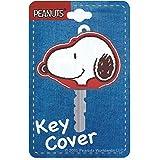 MANI Snoopy cubierta de la llave de la sonrisa roja