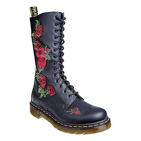 "Dr. Martens Boots ""Vonda"" (14 Loch) (black) (EU37/UK4)"