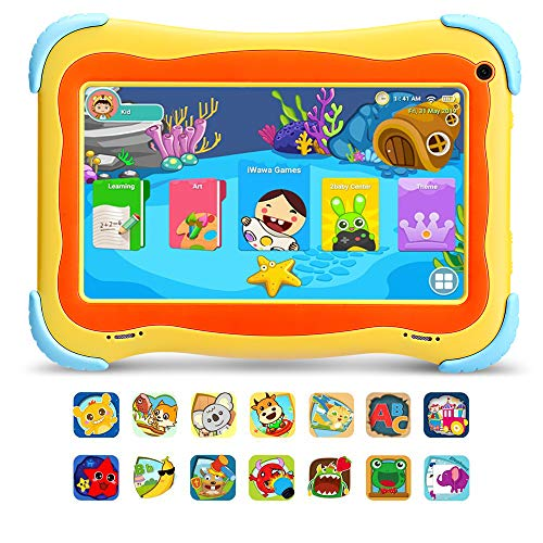 """yuntab tablet [2019 New] YUNTAB Q91 7 """"Tablet Android 8.1 per bambini - con certificazione GMS"""