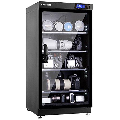 Forspark Deumidificazione a secco cabinet |8W 100l-noiseless e risparmio energetico–per l' obiettivo della fotocamera e apparecchiature elettroniche Storage