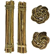 Happy Pet Willow Value Pack - 2 Sticks/2 Small Balls
