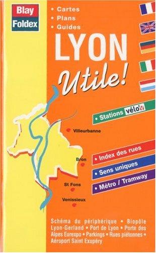 Atlas routiers : Lyon utile ! (avec un index)