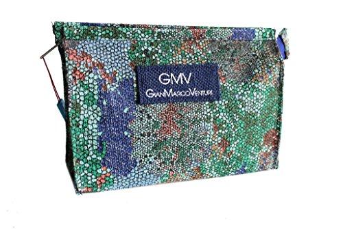 Necessaire Gian Marco Venturi beauty moda mare 44333 aqua