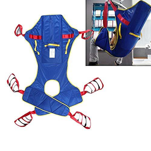 51pazuU5sRL - Lifting Sling Full Body Paralizado Transferencia De Pacientes Elevación De Cinturón Elevación Doméstica Elevación Sling Drive Rehabilitación Ajustable Tira De Movimiento Anciano