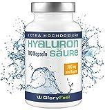 Der Hyaluronsäure-Kapseln VERGLEICHSSIEGER 2018* - 100 Vegane Kapseln plus Biotin - 300mg reine Hyaluronsäure pro Kapsel - Laborgeprüft und ohne unerwünschte Zusätze hergestellt in Deutschland