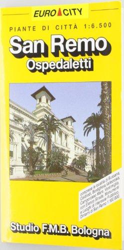 San Remo. Bordighera. Ventimiglia 1:6.500 (Euro City)