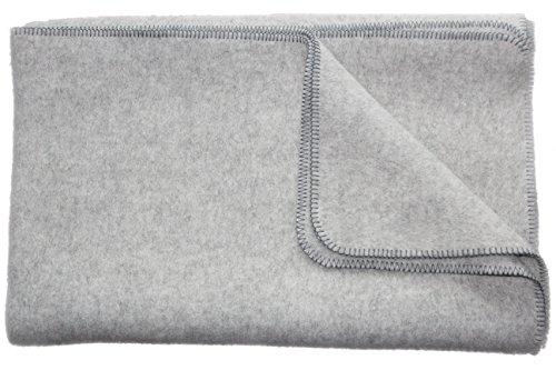 Die Woll-Friesen Öko-Wolldecke Gotland, 100% hochwertige Schurwolle/Materialmix Siehe Produktbeschreibung, 2 Farben Umkettelung, 2 Größen, Gewicht 1.800/2000g